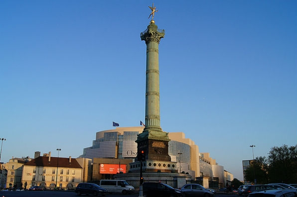 Place de la Bastille (Photo: Laurent Morand via Flickr)