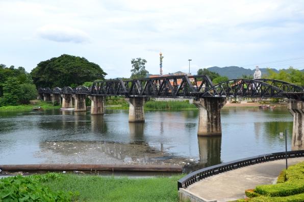 Le fameux pont de la rivière Kwaï (Photo: Vanessa Carronnier)