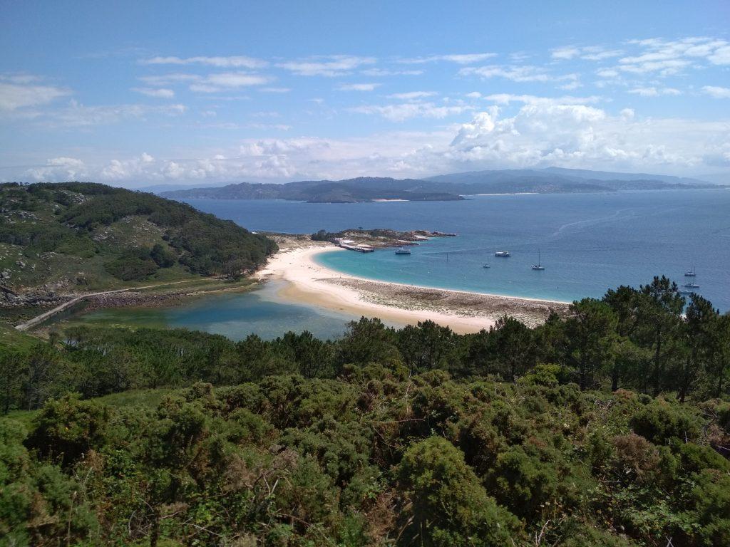 Îles Cies, les tropiques dans l'Atlantique