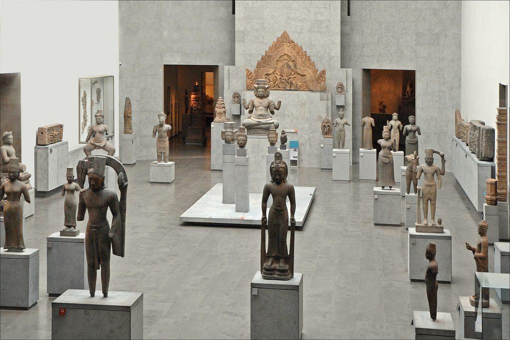 Jean-Pierre Dalbéra Musée Guimet collections de l'Asie du sud-est Salle du Cambodge