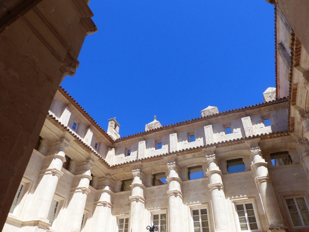 Le cloître du musée de Minorque©EliseChevillard