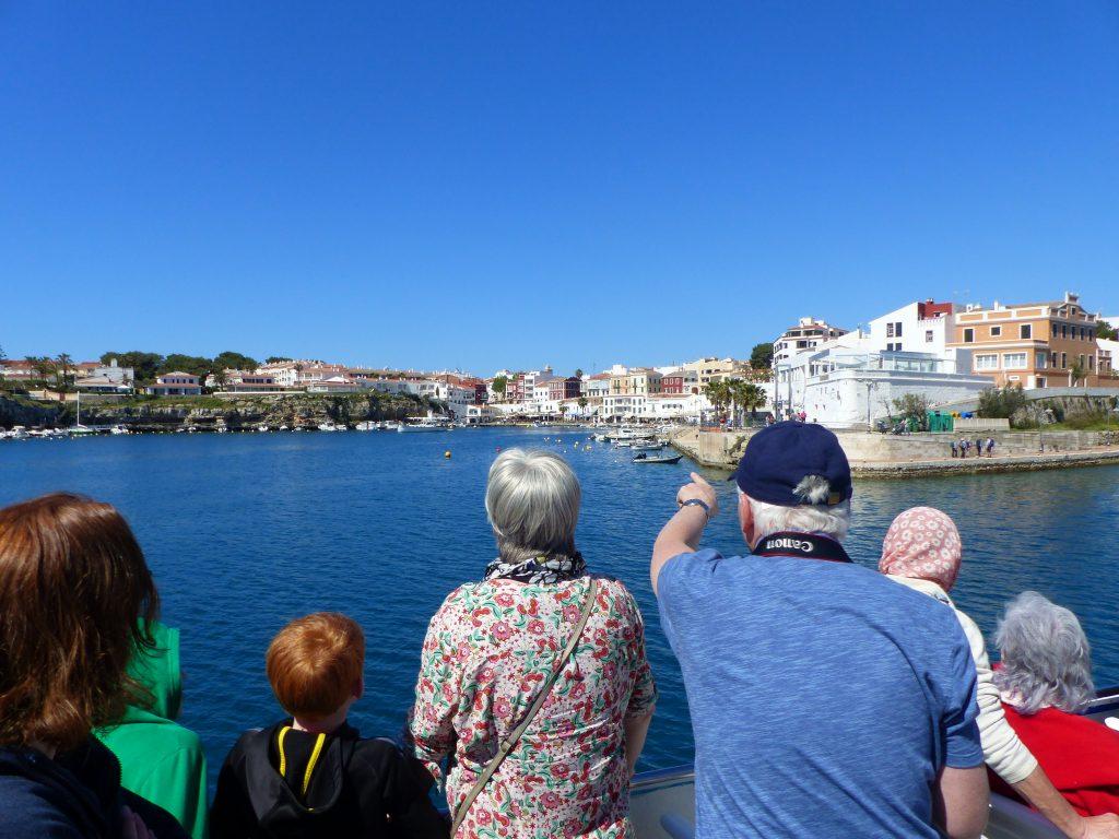 Sur le bateau Yellow Catamarans à la découverte du Port©EliseChevillard