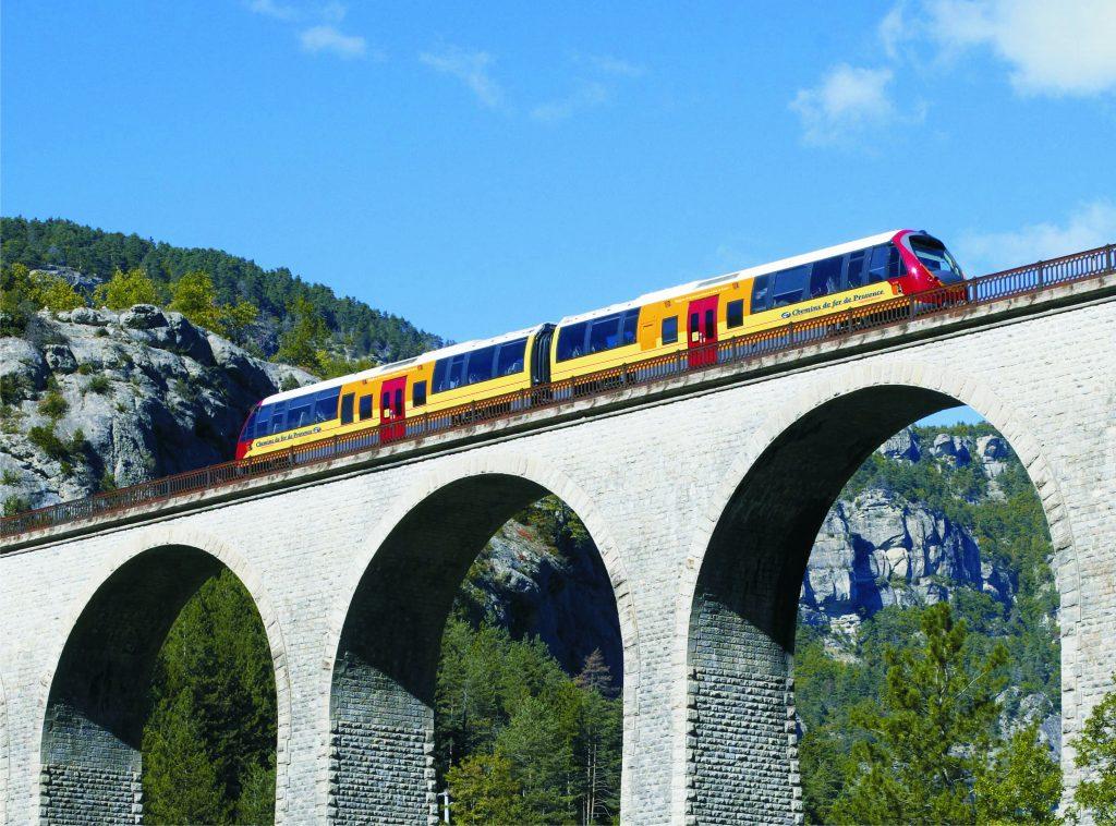 De Digne à Nice en Train des Pignes
