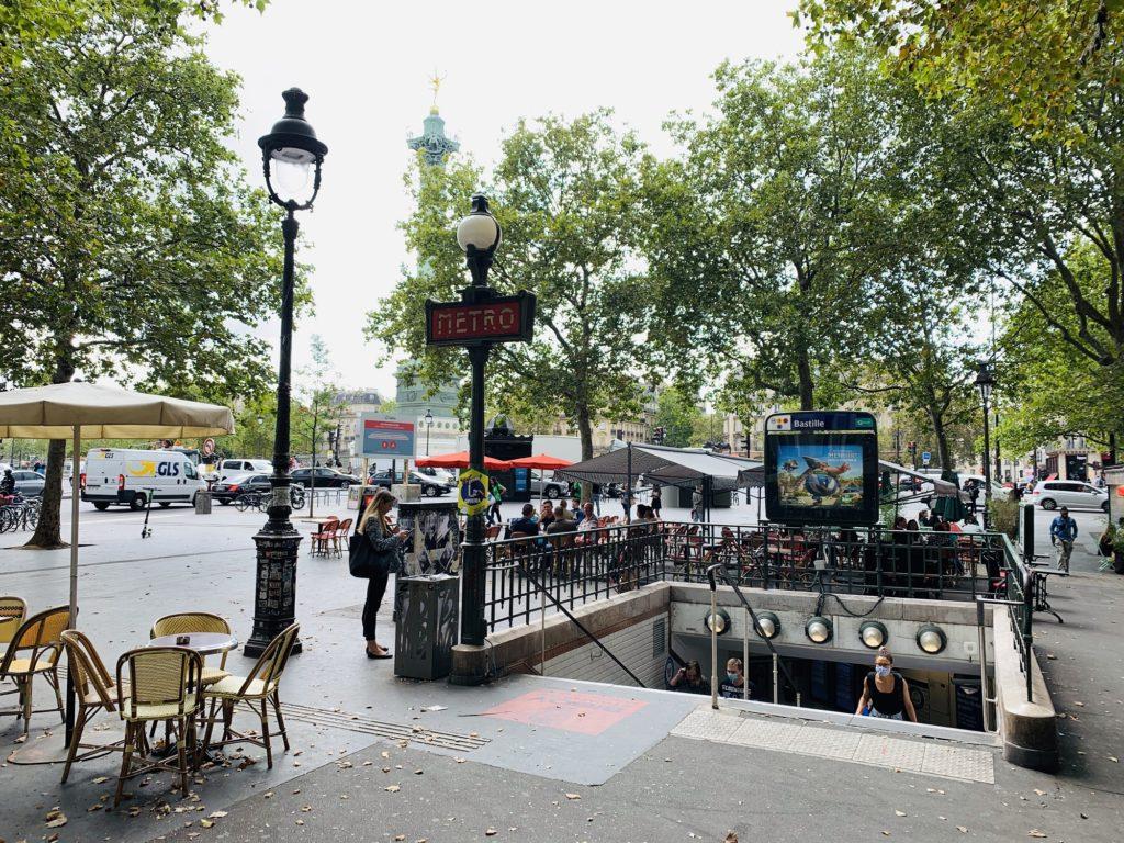Metro Bastille - Arthur Guiraud